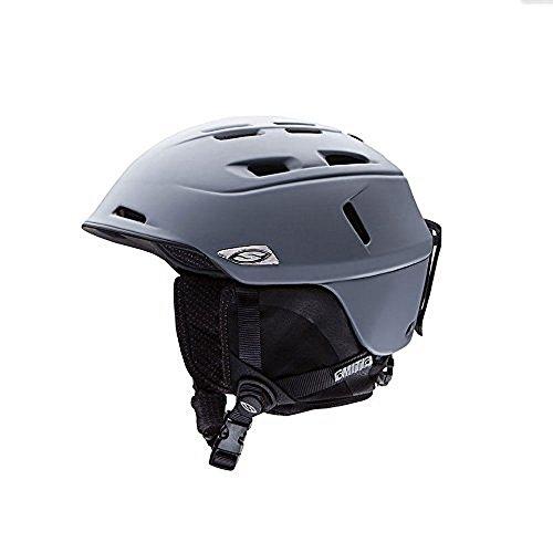Smith Optics Unisex Adult Camber Snow Sports Helmet - Matte Charcoal Medium (55-59CM) by Smith Optics