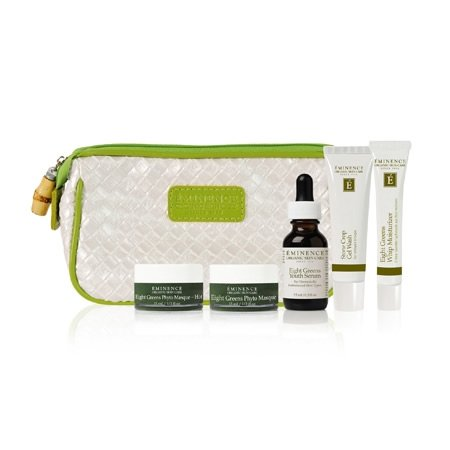Eminence Eight Greens Starter Set by Eminence Organic Skin Care (Eminence Starter Set)