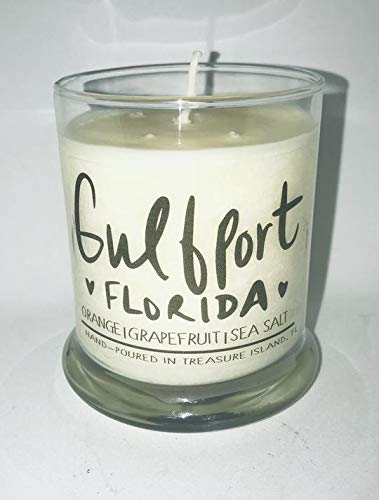 Gulfport Florida Candle Florida Home Candle- Soy Candle- Sunshine State (Landscape Seminoles Florida State)