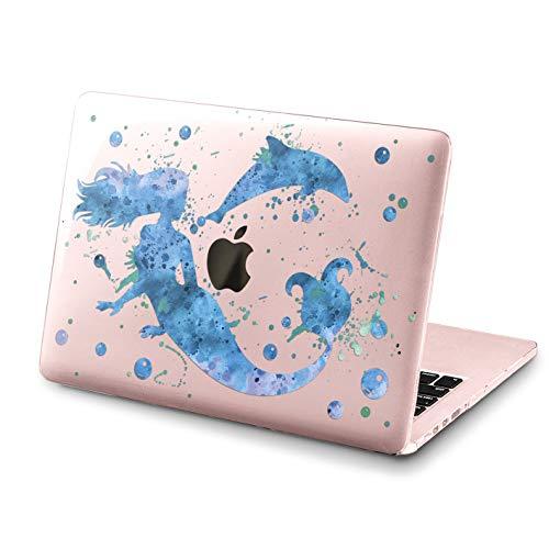 Lex Altern MacBook Pro Case 13 15 inch 2017 2018 A1990 A1989 Mermaid Mac Air 11 Retina Disney 12 Cover Fish 2015 Ocean Clear Hard Laptop Apple 2016 Plastic Protective Print Touch Bar Dolphin Ariel