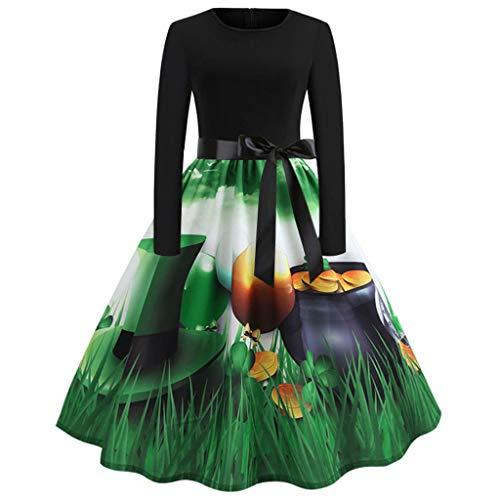 60663c36b7ff TOTOD Elegant Women Vintage Sleeveless O Neck Prom Swing Dress 1950s Retro  Print Evening Party Dresses