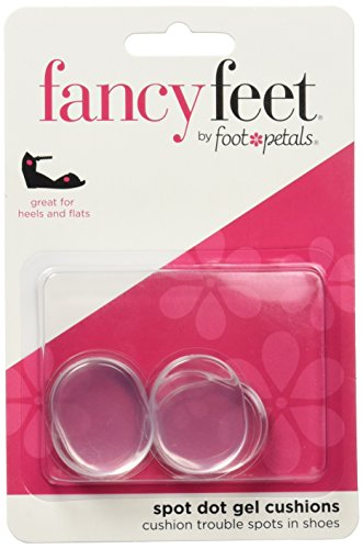 Fancy Feet Women's Gel Spot Dot Cushions (Best Shoe Cushion Inserts)