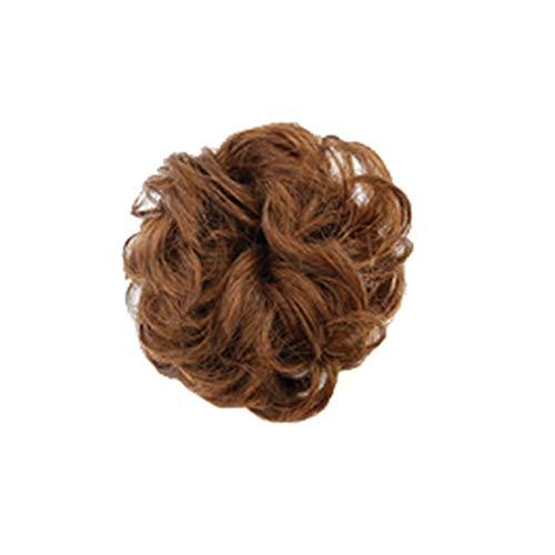 Tigivemen Nature Curly Hair Ring Wigs, Wigs Human Hair, Cute Women Wigs]()