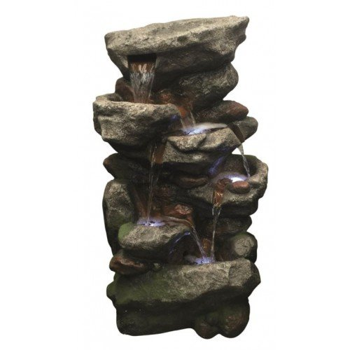 Multi Rockfalls Self Contained Water Feature