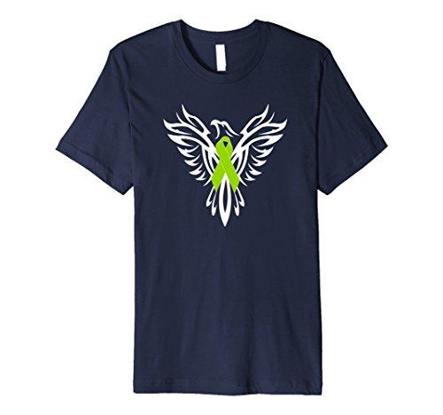 Mens Mental Health Awareness Ribbon Shirt Phoenix Products Large (Mental Health Awareness Bracelets)