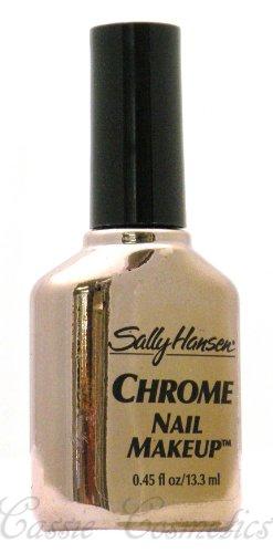 Sally Hansen CHROME NAIL MAKEUP Nail Polish #51 Rose Diamond Chrome
