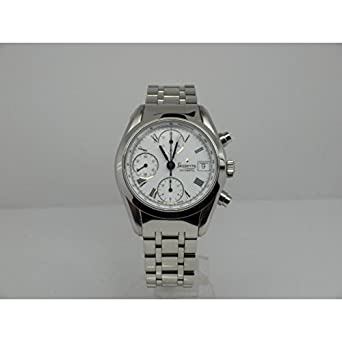 Uhr Levrette Herren 7002 – 20-B Schalter Stahl Quandrante weiß Armband Stahl