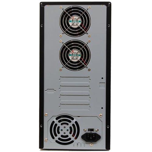 Produplicator 1 to 5 LightScribe 24X CD DVD Duplicator (Standalone Duplication Tower) with Nero Essentials Burning Software - Copier Replication Recorder Burner (LS 1-05)