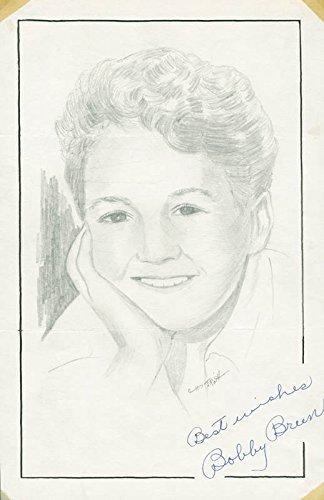 Bobby Breen – Original Art Signed co-signed By: John Raitt