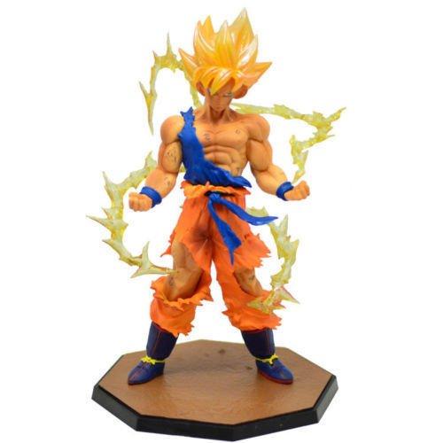 Price comparison product image Gansup Anime Dragon Ball Z Super Saiyan Son Goku / Gokou For Collect Figure Toys