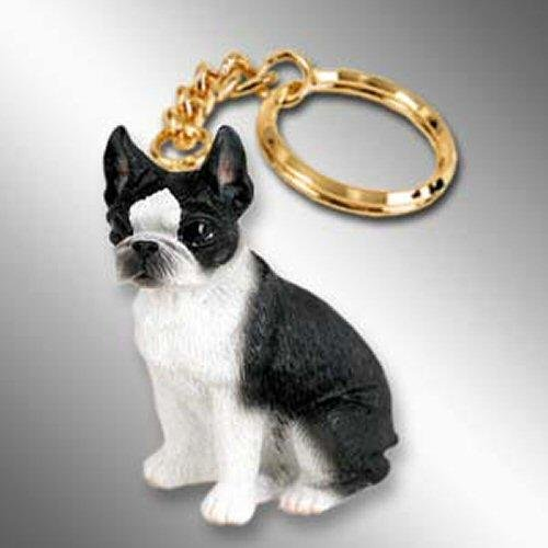 Boston Terrier Tiny Ones Dog Keychains (2 1/2 in)
