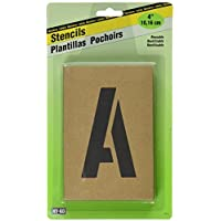 Hy-Ko ST-4 Number & Letter Stencils Reusable, Water Resistant, 4 by Hy-Ko