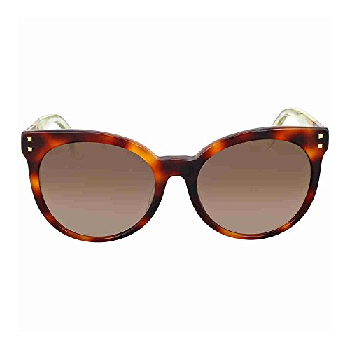 Fendi Brown Gradient Cat Eye - Brown Fendi