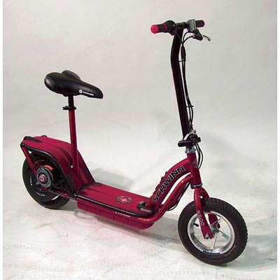 Schwinn S500 Electric Scooter Red Electric