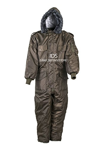 Green IDF Snowsuit Winter Clothing Snow Ski Suit Coverall Insulated Suit (XL) -