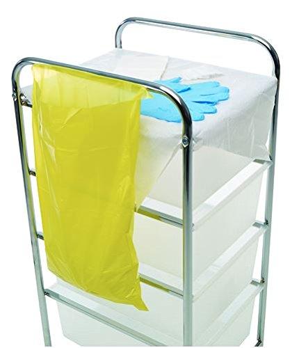 Bolsas de basura clínicas (pequeñas), paquete de 50: Amazon ...