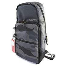 Backpack monobretelle 'Hedgren' gray camouflage - 38x23x12 cm (14.96''x9.06''x4.72'') (special tablet).