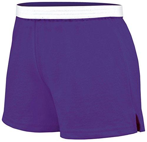 Soffe Youth Girls' Authentic Soffe Shorts, Purple, (Purple Girls Shorts)