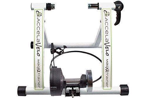 NEW!! Indoor Exercise Bike Bicycle Trainer Stand 7 Levels Resistance Stationary X