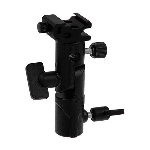Fotodiox Elite Flash Umbrella Bracket - With Swivel/Tilt Head, Mountable to Light stand and Tripod - fits Metz Flash AF, AF-1, AF-2, 58, 56, 54, 50, 48, 44, 40, 36 (Head Tilt Umbrella)