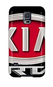 Galaxy S5 Case Cover - Slim Fit Tpu Protector Shock Absorbent Case (kia Logos )