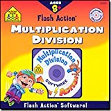 SCHOOL ZONE Flash Action Multiplication And Division for Windows and Macintosh [Old Version]