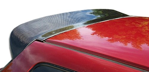 Civic Spoon Style Carbon - Carbon Creations Replacement for 1992-1995 Honda Civic HB Spoon Style Wing Trunk Lid Spoiler - 1 Piece