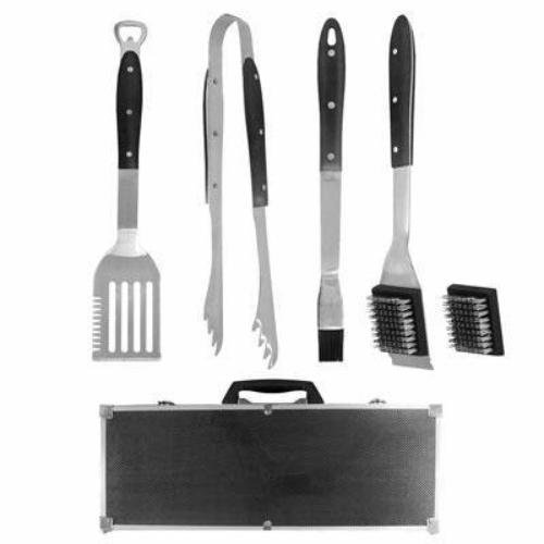 Carbon Fiber 02906CF 6-Piece Style Tool Set with Aluminum Case, Stainless Steel [並行輸入品]   B013DTMNZY