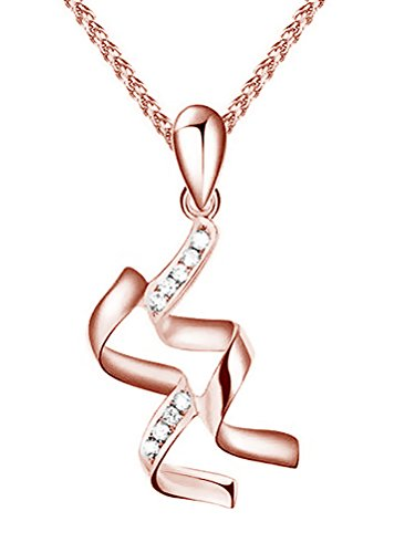 Aquarius Charm Gold Plated - Paialco 925 Sterling Silver Birthday Zodiac Charm Pendant Necklace Rose Gold Plated Aquarius
