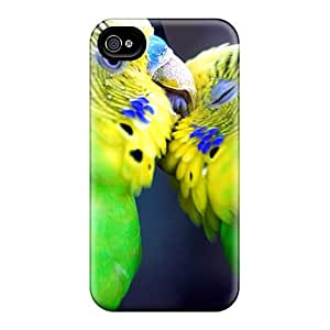 High Impact Dirt/shock Proof Case Cover For Iphone 4/4s (amazon Parrots)