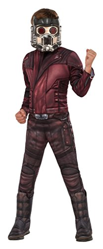 Star Lord Costume For Kids (Deluxe Star Lord Child Costume – GOTG 2 – M)
