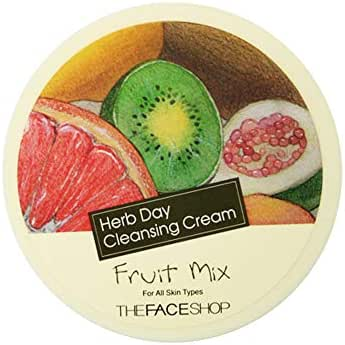 The Face Shop Herb Day Cleansing Cream 150ml (Fruit Mix)