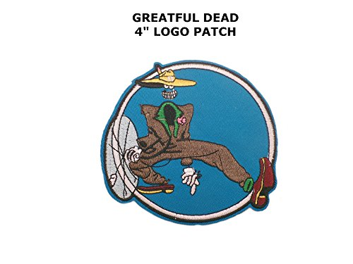 Grateful Dead Metal Rock Punk Indy Music Band DIY Embroidered Sew or Iron-on Applique Patch Outlander Gear