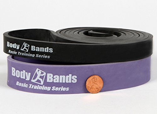 "Body Bands 41"" Loop Resistance Pull Up Assist Band Set 