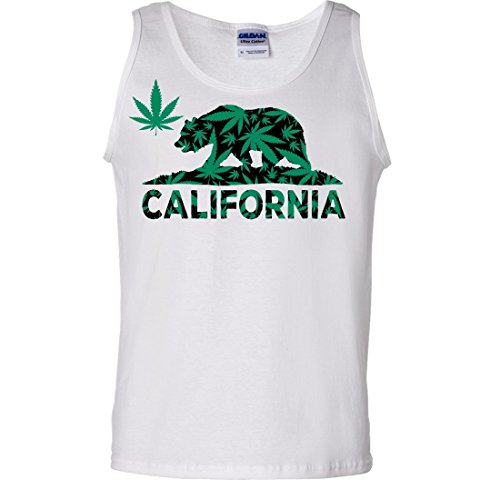 California-420-Hemp-Flag-Asst-Colors-Tank-Top