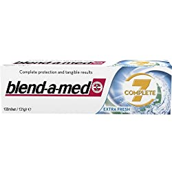 [Pack of 3] Blend-a-med 7 Complete Extra Fresh Toothpaste. Blendamed 100 Ml