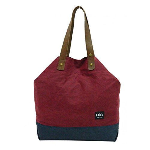 G.ride Women's GRISICAR82 Carole Shoulder Bag, Red/Navy, One Size