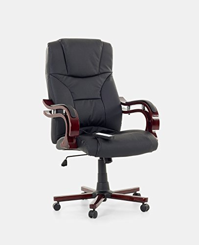 Poltrona Ufficio Massaggio.Sedia Da Ufficio In Pelle Con Massaggio Poltrona Ufficio