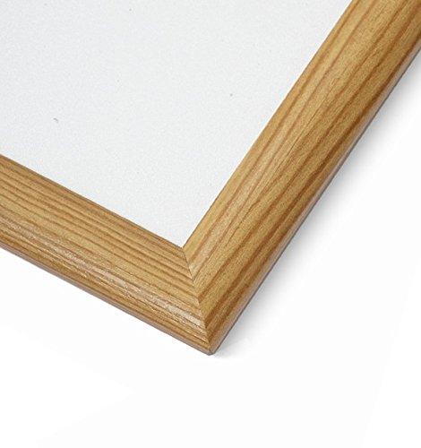 A3 Pine Wood Effect 25mm Snap Frames