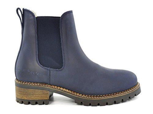 blue heeler Chelsea Boot Pash Navy Blue Navy