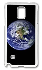 Adorable Earth 2 Hard Case Protective Shell Cell Phone Iphone 5/5S - PC White