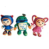 hhh 20cm (7.9 inch) - Team Umizoomi Bot Milli Geo Plush Toys Doll Soft Stuffed Toys Children Kids Stuffed Animals XPC