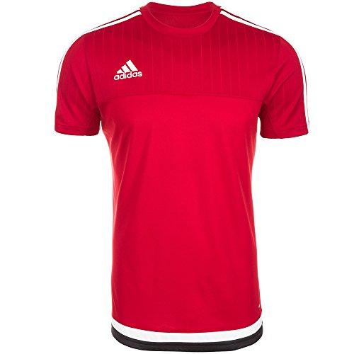 Adidas Tiro 15 Mens Training Jersey L Power Red-White-Black