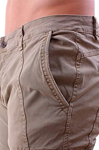 Instinct Laterali Fit Pantaloni Cargo Alle Zip Khaki Militari Con Caviglie Jeans Elastico Tasche Tasconi Slim 4081 Uomo Xwwzqfdr