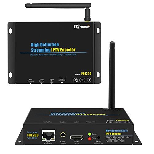 H.264/H.265 IPTV Encoder HDMI Encoder IPTV Streaming Encoder MPEG-4 Video Encoder Youtube IP Converter 2.4G Wifi