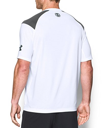 Under Armour Scope Ventilated Ss T - white