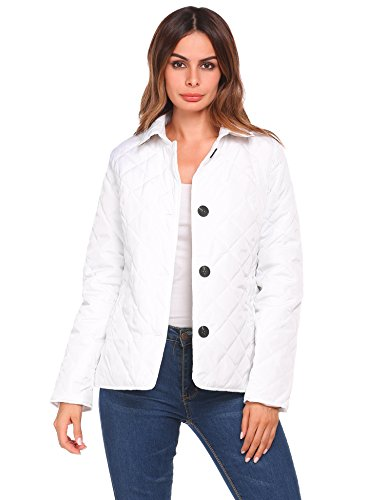 white quilted jacket - 7