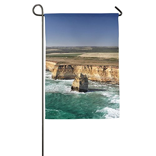 (Hexu Aerial View Of The Twelve Apostles At The Great Ocean Road In The Port Campbell National Park Family Garden House Home Demonstration Competition Flag 1827inch)