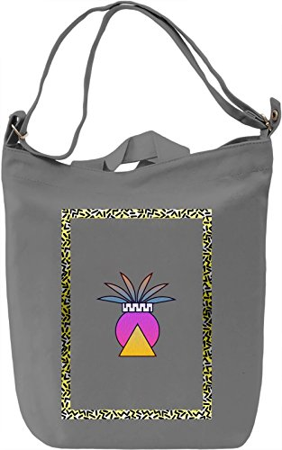 90's Ananas Borsa Giornaliera Canvas Canvas Day Bag| 100% Premium Cotton Canvas| DTG Printing|