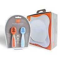 NumNum Pre-Spoon Gootensil • New & Improved Design • Combo Includes Beginner ...